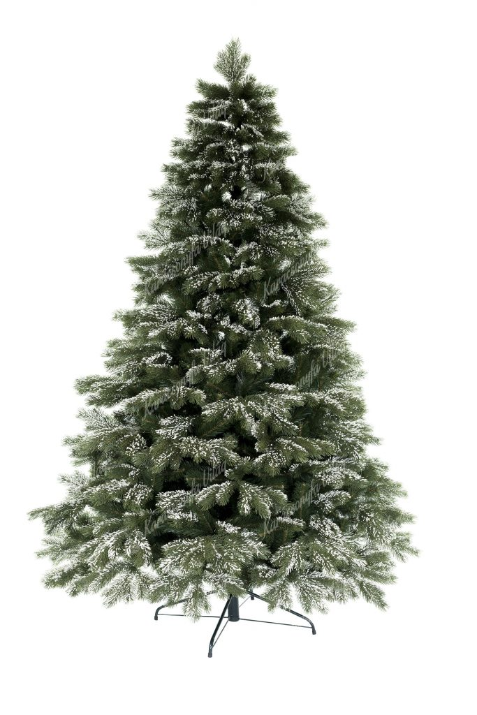 Műkarácsonyfa 3D Havas Himalájai Borókafenyő