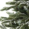 Műkarácsonyfa 3D Havas Lucfenyő részlet 2