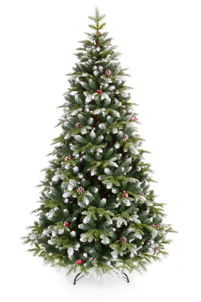 Műkarácsonyfa 3D Havas Jegenyefenyő