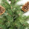 Műkarácsonyfa Tátrai Borókafenyő részlet 2