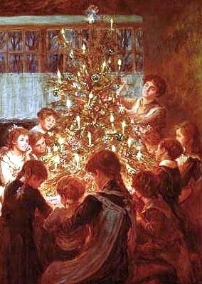 Karácsonyfa az újkorban