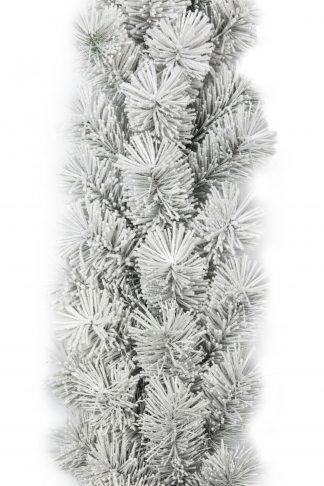Fehér Hosszútűs fenyő karácsonyi girland
