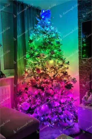 Színes LED világítás karácsonyfához Twinkly