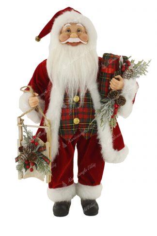 Hagyományos Santa Claus dekoráció 46cm