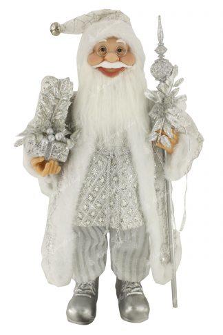 Karácsonyi Jeges Mikulás dekoráció 60cm